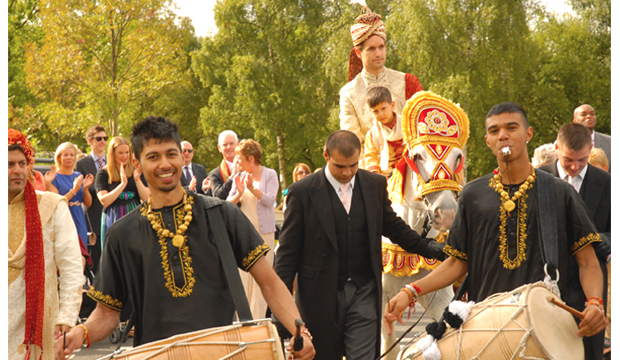 Dhol Division at Forest of Arden in Birmingham